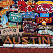 Austin Eats Print