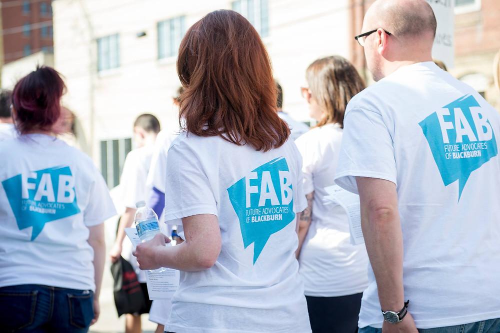 FAB at Walk a Mile 2015
