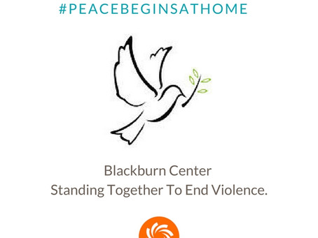 This Year and Every Year, Peace Begins At Home.