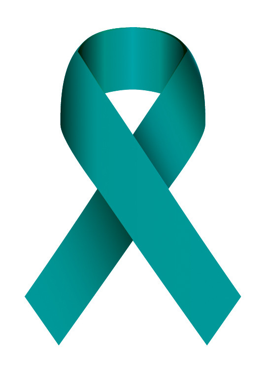 Teal Ribbon for SAAM