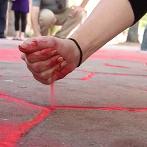 Help Us Bring Awareness to Human Trafficking with The Red Sand Project