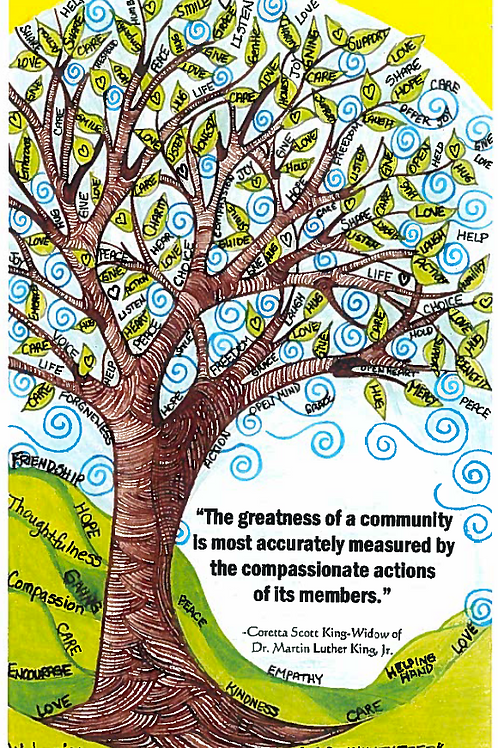 All Occasion Greeting Card: Compassion
