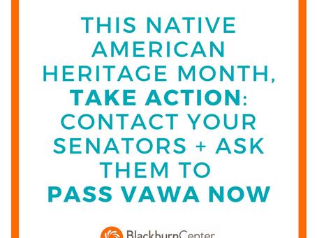Ending Violence Against Native American and Alaska Native Women
