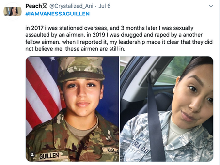 The Ongoing Problem of Military Sexual Assault and Harassment