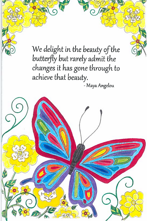 All Occasion Greeting Card: Maya Angelou