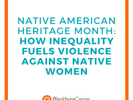 How Inequality Fuels Violence Against Native American Women