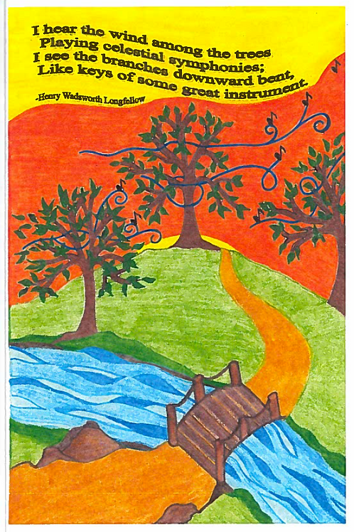 All Occasion Greeting Card: Longfellow