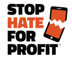Stepping Back to Protest Hate for Profit