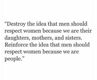 Because Women Are People
