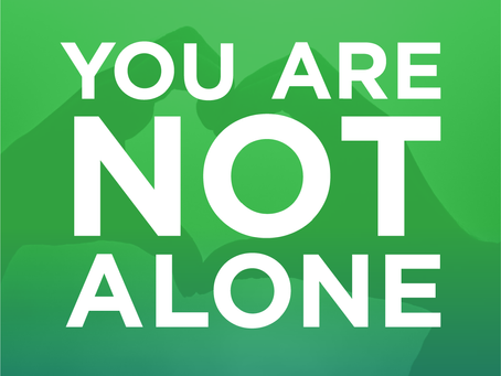 Mental Health Awareness Month: You Are Not Alone