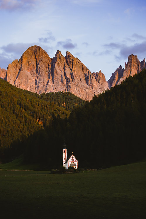 Evening hues of Italy