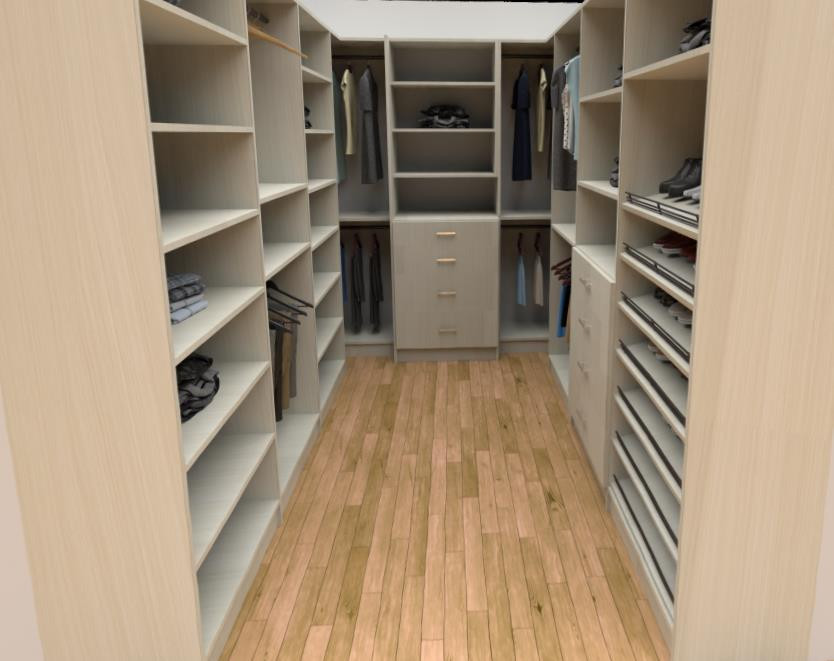 Average Closet with Tons of Storage
