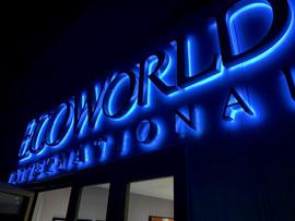 Eco World Sign