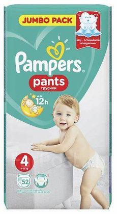 Pampers Подгузники-трусики Pants Maxi (9-15 кг) 52шт