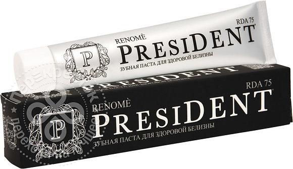 зубная паста president в ассортименте