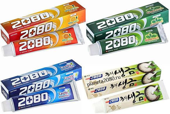 зубная паста 2080 в ассортименте