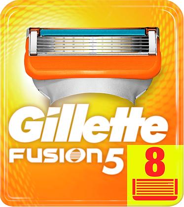 кассеты для бритвы  gillette fusion 5 8шт