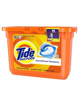 капсулы для стирки Tide 3в1