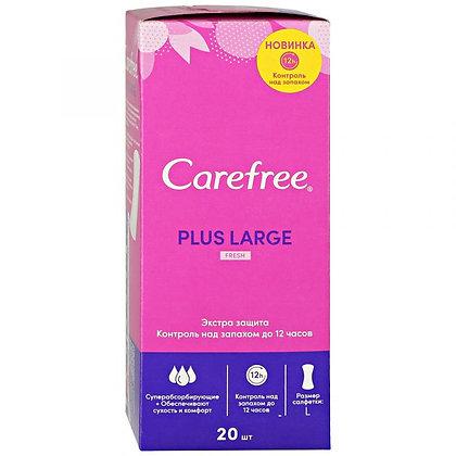 Прокладки Carefree Plus Large fresh ежедневные ароматизированные 20шт
