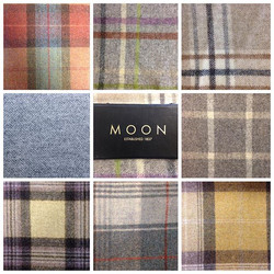 Pure Wool Fabric By Moon