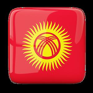 Escudos Quirguistão