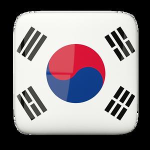 Escudos Coréia do Sul