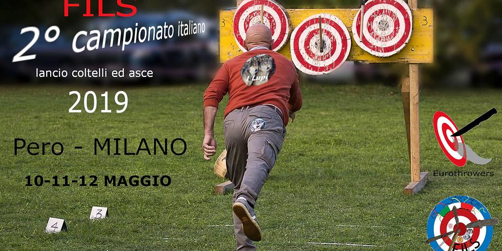 2° TROFEO INTERNAZIONALE FILS - 2° CAMPIONATO ITALIANO Pero - Milano