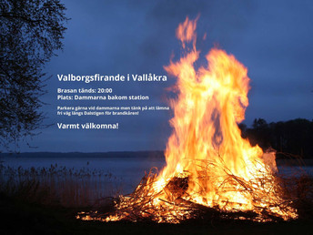 Valborgsfirande i Vallåkra
