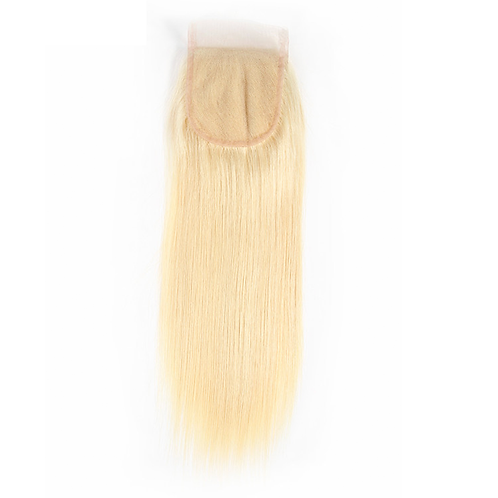Bombshell Blonde Lace Closure Straight