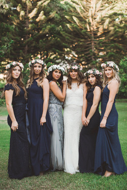 Floral Design for a Maui Bridal Party