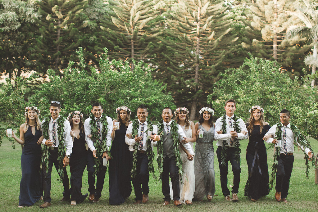 Maui Wedding Party