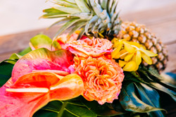 Tropical Pineapple Centerpieces