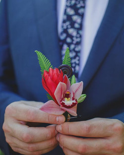Tropical Boutonniere
