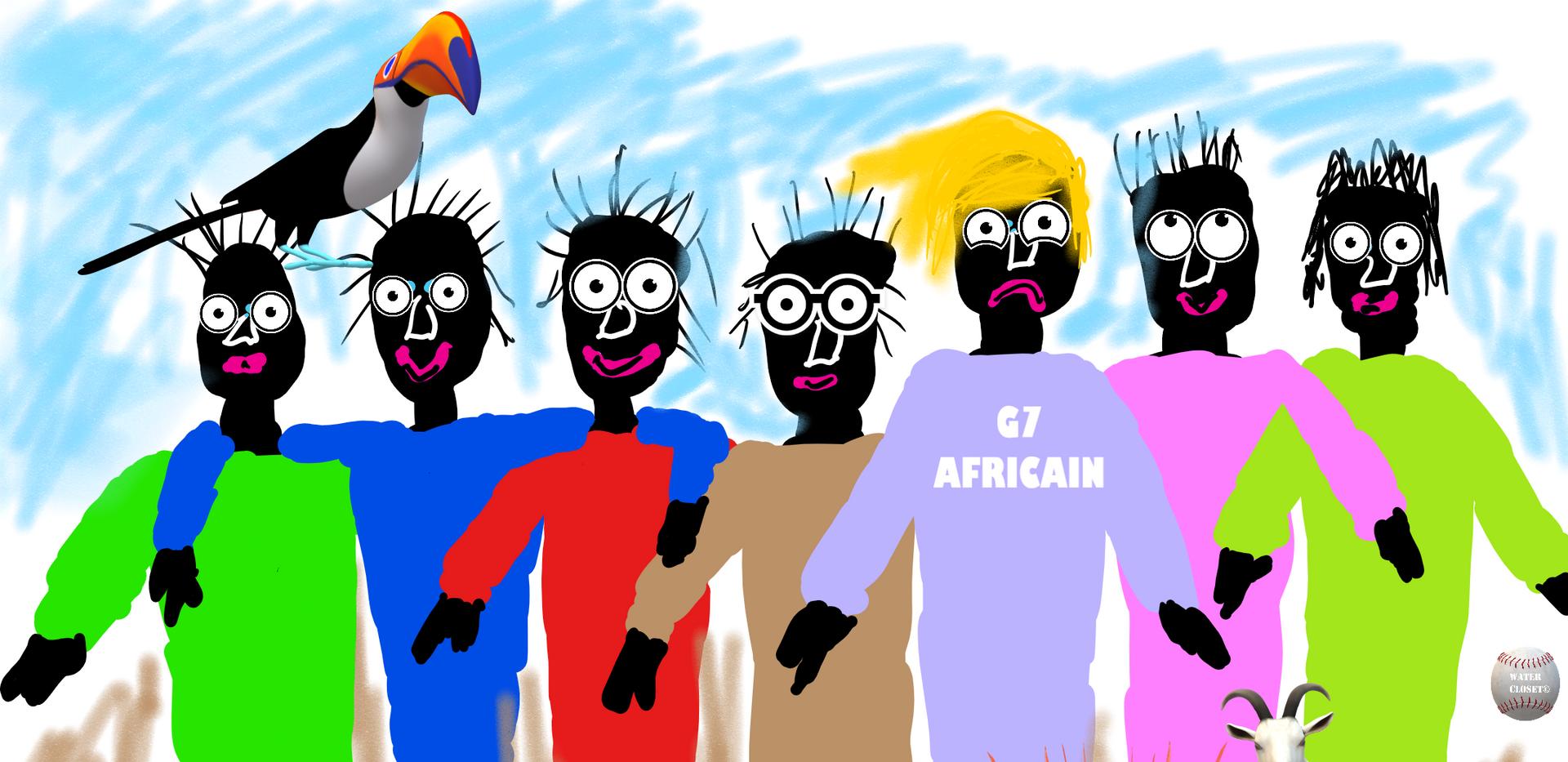 G7 AFRICAIN - WATER CLOSET©