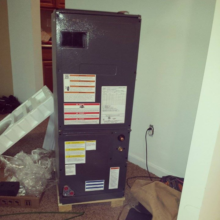 Getting ready to install this #HVAC system