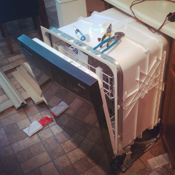 New #dishwasher install
