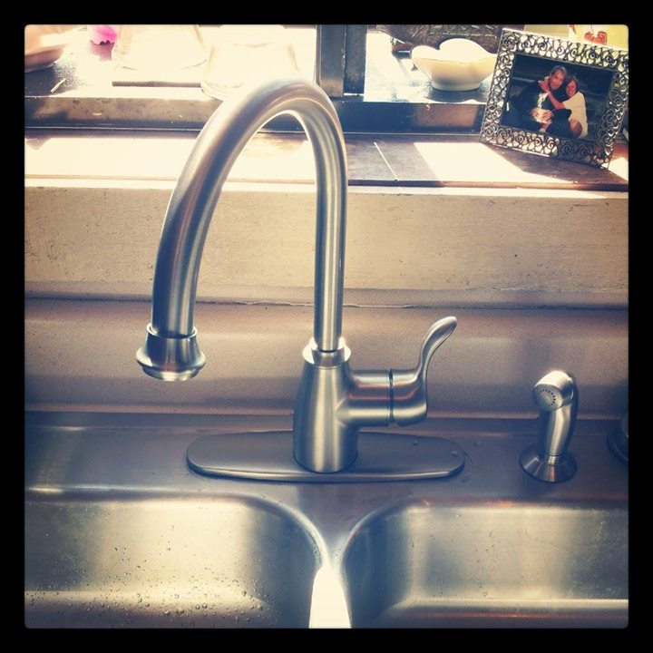 New #kitchen #sink #faucet install