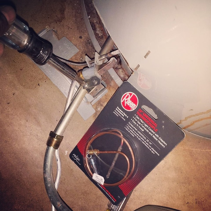#waterheater #thermocouple replacement