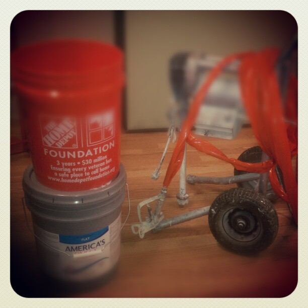 Getting ready to do some serious #painting #Leo #Handyman #Alton #paint #homedepot