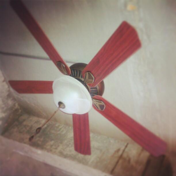 #HarborBreeze #ceiling #fan installed