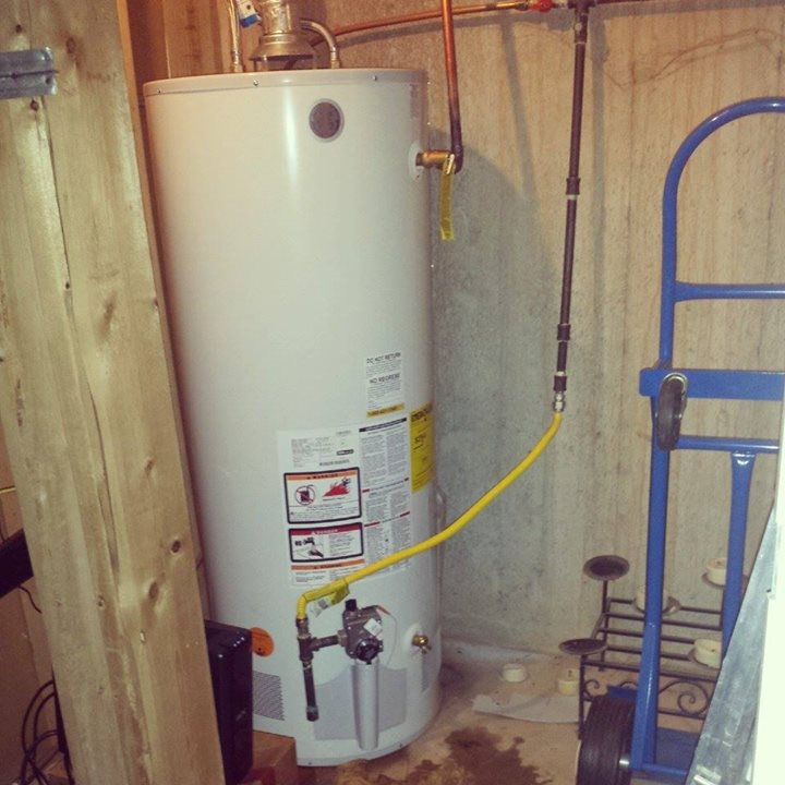 #waterheater install