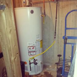 #waterheater install