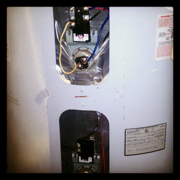 Cold water problem solved! #Waterheater fixed! #Leo #Handyman #Alton #plumbing #UltiTech