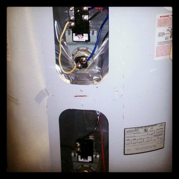 Cold water problem solved! #Waterheater fixed! #Leo #Handyman #Alton #plumbing #UltiTech
