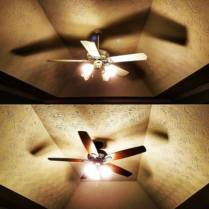 #ceilingfan #upgrade
