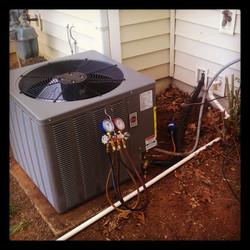 New #HVAC install complete
