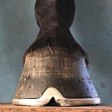 Handmade toe clip shoe