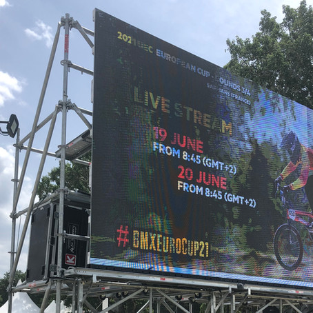 Clin d'oeil sportif : Coupe d'Europe BMX 2021 !