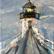 Marshall Pt. Lighthouse, Foggy Day, $229