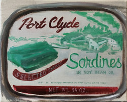 Port Clyde Sardines, 8X10, Private Collection